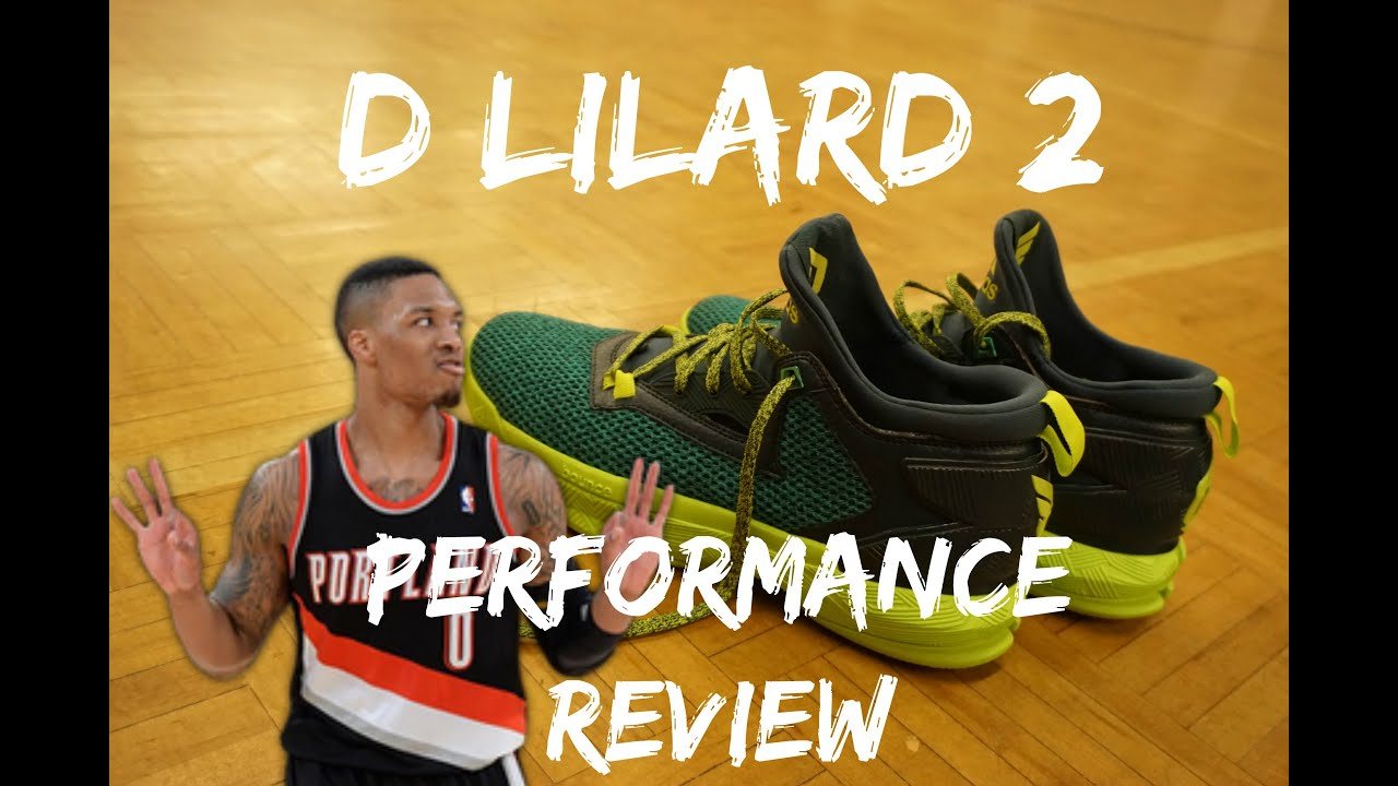 buy popular 87a95 573dc D LILLARD 2 PERFORMANCE REVIEW  BEST BASKETBALL SHOE FOR YOUR DOLLAR