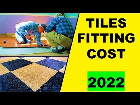 Cost Of Tiles And Its Fitting In A House