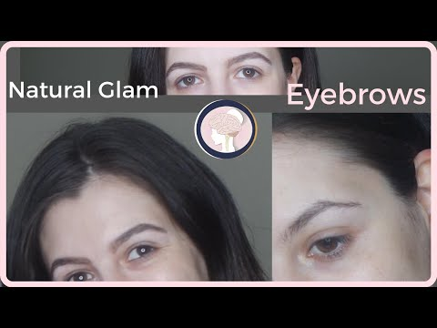 natural glam eyebrow routine using desi perkins bombass brows by benefit thumbnail