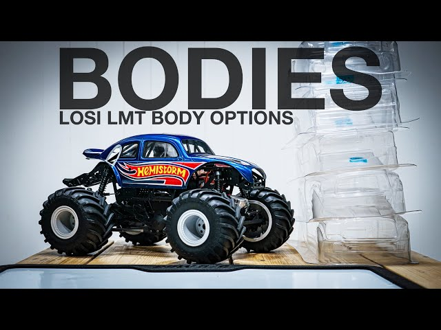 LOSI LMT BODY OPTIONS - How to fit almost ANYTHING!
