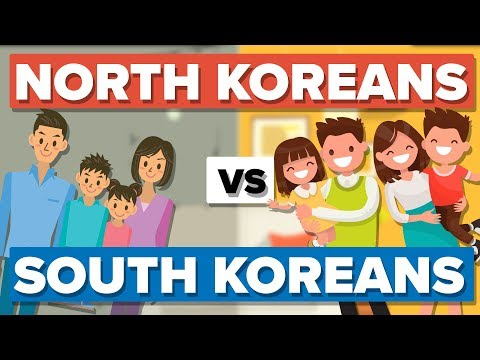 Average North Korean vs the Average South Korean - People Comparison