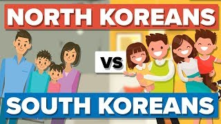 Video Average North Korean vs the Average South Korean - People Comparison download MP3, 3GP, MP4, WEBM, AVI, FLV Januari 2018