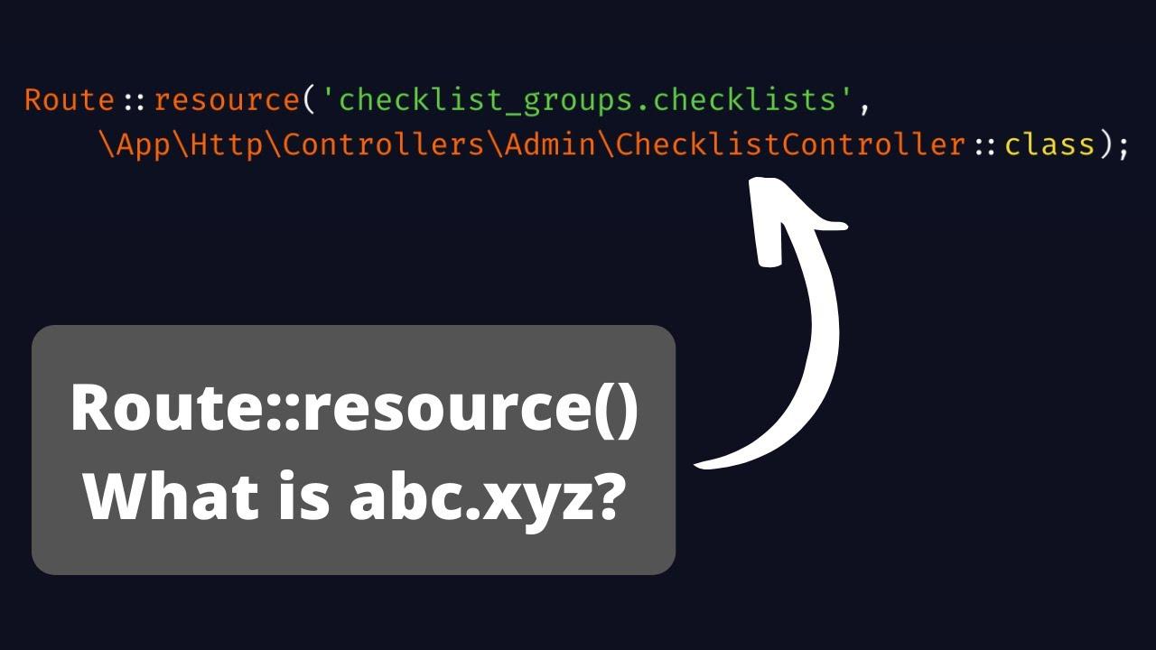 Laravel Checklister. Part 3: Managing Checklists