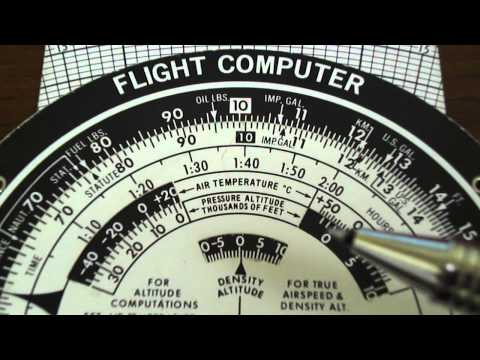 E6B Flight Computer: Density Altitude