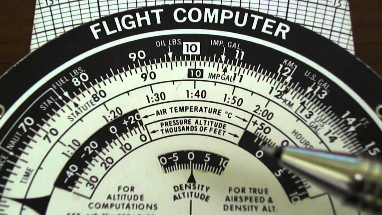 Sporty's new electronic e6b flight computer.