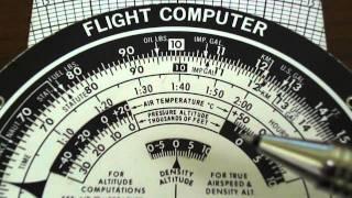 E6B Flight Computer: Density Altitude