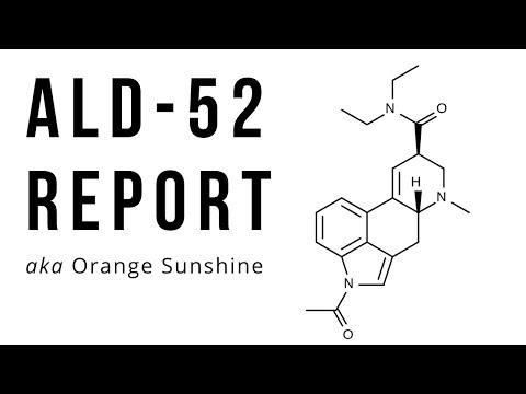 ALD-52 Trip Report | Orange Sunshine