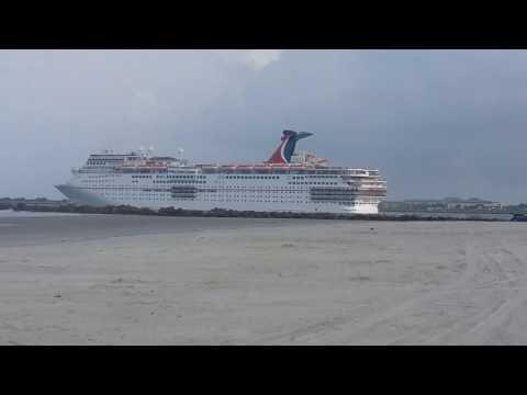 Carnival Elation leaving Jacksonville Port