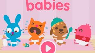 Sago Mini Babies Part 1 - Best iPad app demo for kids - Ellie