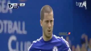 Chelsea vs Crystal Palace 1-0 Goal Eden Hazard Highlights 2015 English Comment.mp4