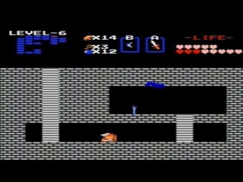 The Legend of Zelda (NES) Walkthrough - Level 6 (The Dragon)