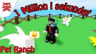 1 milione al secondo animale-Pet Ranch-Danish Roblox