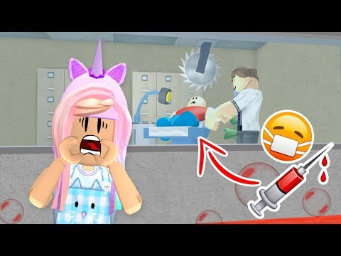 ROBLOX Let's Play Escape The Evil Dentist   Kunicorn Plays Roblox Video Games