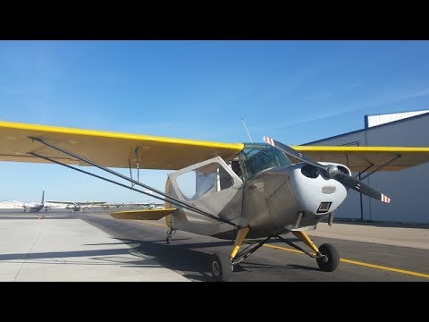 Tailwheel Endorsement Lesson 1: Introduction to the Aeronca Champ 7EC