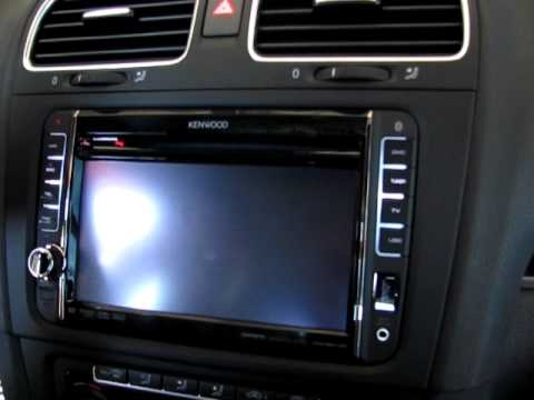 enwood dnx520vbt vw golf 6 youtube. Black Bedroom Furniture Sets. Home Design Ideas