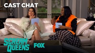 SCREAM QUEENS | Between 2 Queens: Getting Hot With Lea & Keke