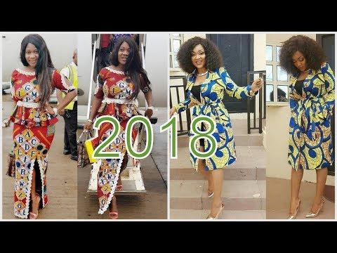 LATEST ANKARA STYLES FOR LADIES 2018