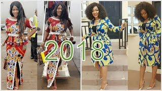 LATEST ANKARA STYLES FOR LADIES 2018