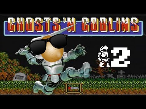 The Sofa Ghosts Get Spoopy With Ghosts 'n Goblins part 2