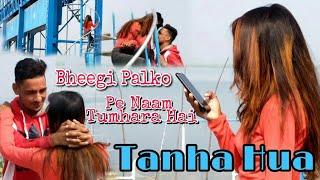 Bheegi Palko Par Naam Tumhara Hai & Tanha Mix   SJ   Heart Touching  Love Story      SJ Creation