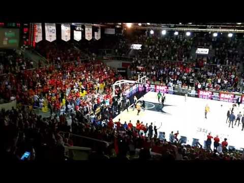 Basket - 1/2 finale Pro A match 5 Sig Strasbourg vs Asvel Lyon-Villeurbanne derniers instants