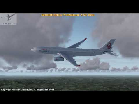 Aerosoft A330 Test Flight - YouTube