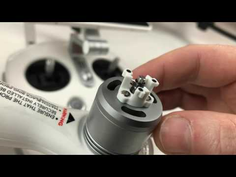 Wobbly Prop Mounts - DJI Phantom 4 Pro+