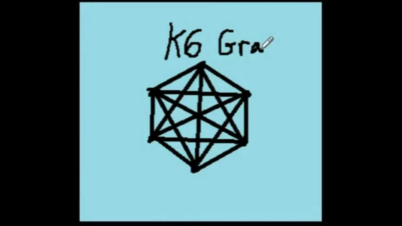 Discrete Math, K6 Complete Graph, (short intro) - YouTube