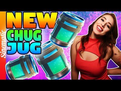 Fortnite's NEW CHUG JUG HYPEEE!   200+ Wins   2200+ Kills!Come BE a SINNER :)