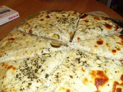 New York Style White Pizza (Tribute to HALLSYSKITCHEN)