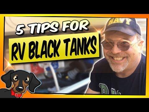 🔴  RV Black Tanks - 5 Useful tips - RV Living