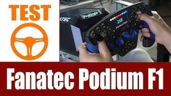 Test: Fanatec Podium Racing Wheel F1 Direct Drive PS4 (Setup & Praxis)