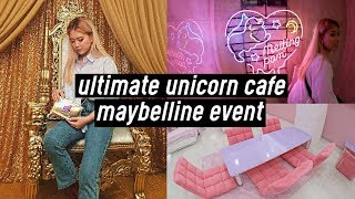 Ultimate Unicorn Cafe in Korea!!! Maybelline New York Event | DTV #45