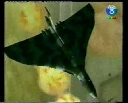 Jet Thunder on TV / Jet en Noticiero en Argentina TV