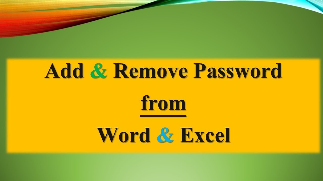 pass protected pdf from word