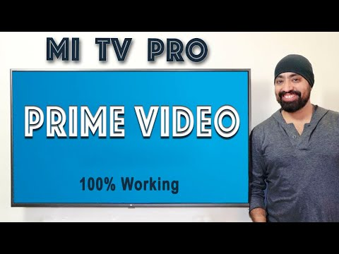 Install & Play Amazon Prime Videos On Mi TV PRO
