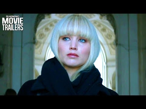 RED SPARROW   First Look Trailer for Jennifer Lawrence Spy Thriller