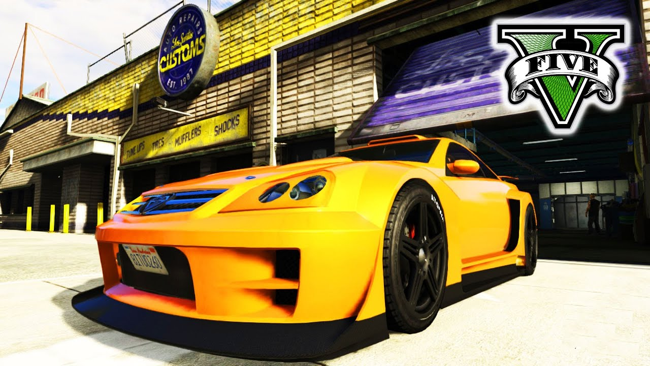GTA 5 Online Tow Truck - Custom Cars & Races GTA V - Crew Fun Grand ...