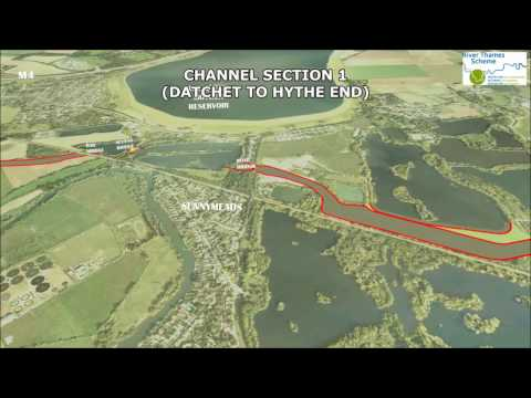 River Thames Scheme  Flyover