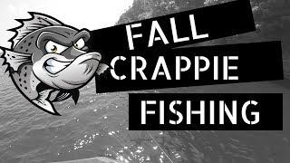 Crappie fishing - fall crappie fishing