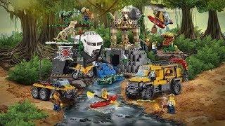 Обзор на LEGO CITY Джунгли 60161 База исследователей