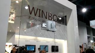 CES 2013: Ecovacs Winbot Demo