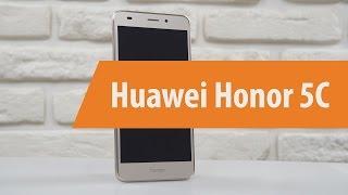 Распаковка Huawei Honor 5C / Unboxing Huawei Honor 5C