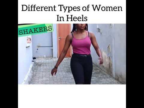 Download Maraji - Different Types Of Women In Heels