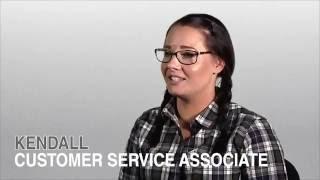 Kendall, an Amazon Customer Service Associate