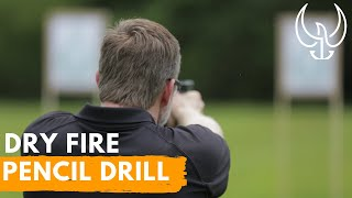 Navy SEAL Firearms Training Dry Fire Pencil Drill - AMAZING!