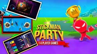 stickman party 1 2 3 4 player games free - minigames new update 1 screenshot 5