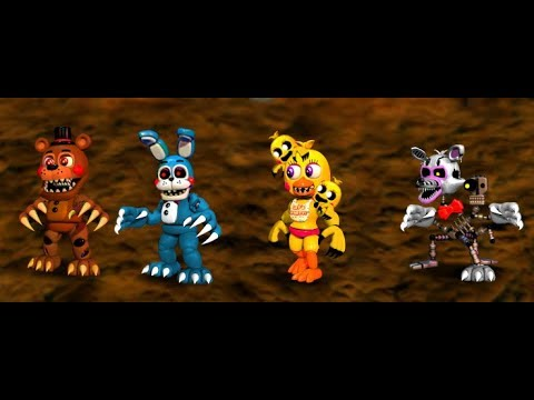 Speededit FNAF World Nightmare Toys