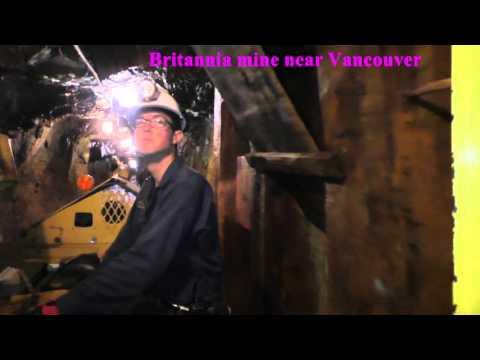 Britannia mine near Vancouver