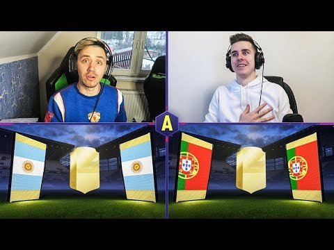 ŚWIRNIĘTY PACK AND PLAY! ADRYAN VS DEV! | FIFA 18